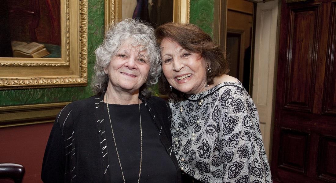 Hilda Lewis With Ada Yonath