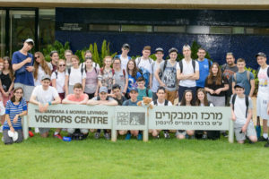 UK Youth Tours visit the Weizmann Institute