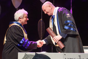 Sir Paul Nurse awarded Weizmann Honorary Doctorate